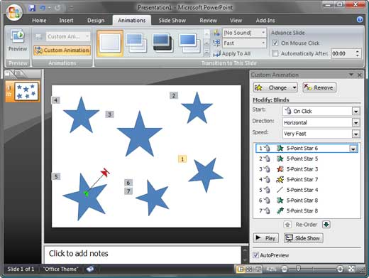 how to download animation for powerpoint 2007