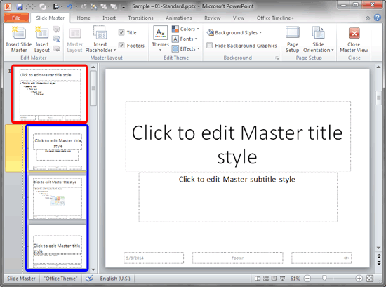 Slide numbers within slide master in powerpoint 2010 toneelgroepblik