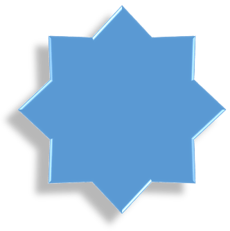 Star shape applied with a Preset Shape Effect