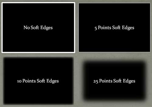 Soft Edges style Variations