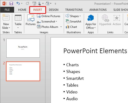 Add headers and footers to slides in powerpoint 2013 powerpoint insert tab of the ribbon toneelgroepblik Gallery