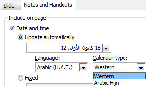 Adding date and time formats for foreign languages and calendars