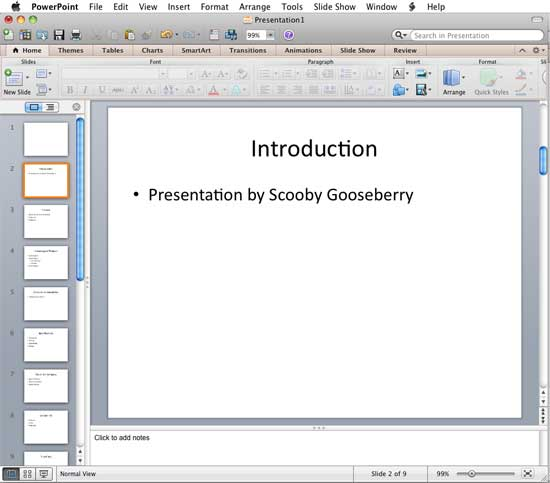 Import outlines in powerpoint 2011 for mac powerpoint presentation after importing slides from outline toneelgroepblik