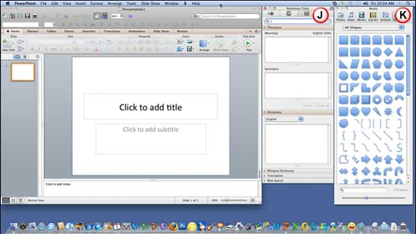 how to make a photo slideshow in powerpoint 2011 mac