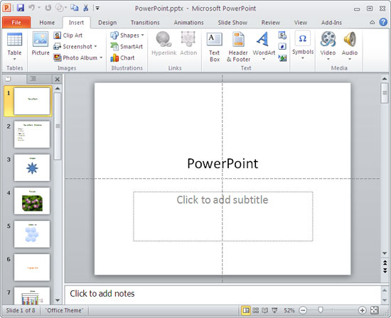how to make text appear on click in powerpoint 2010