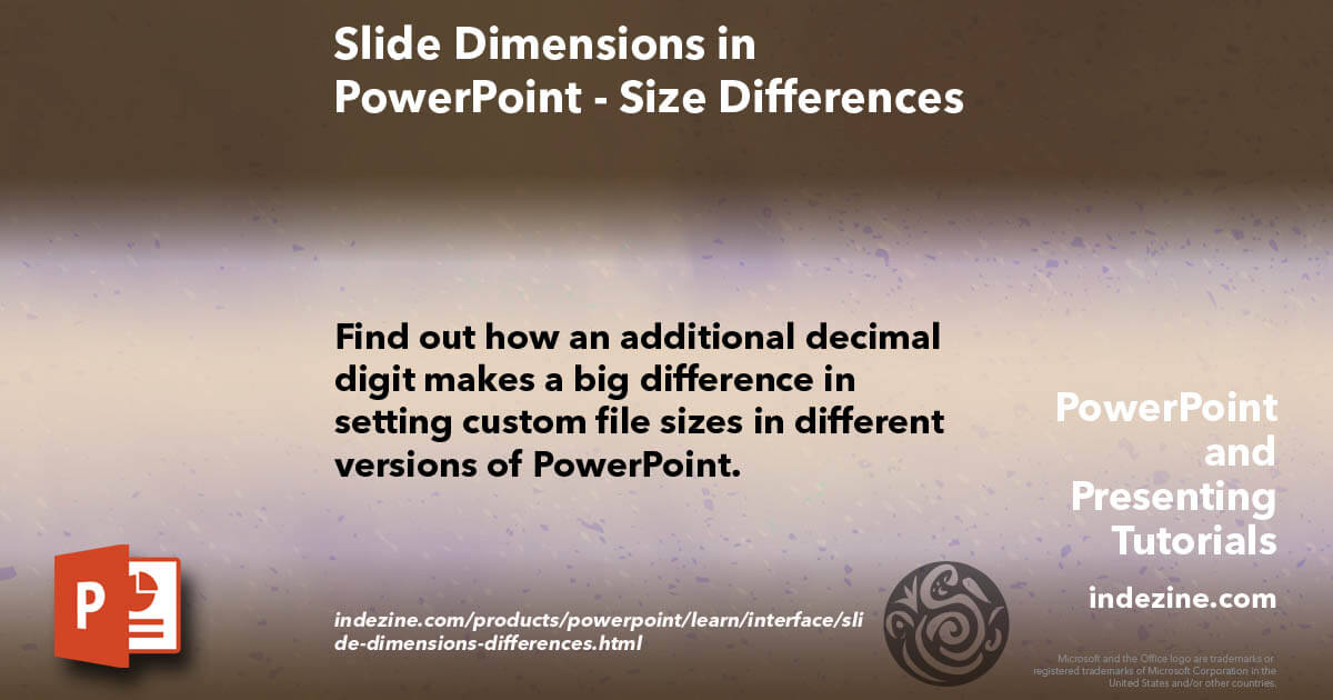 Slide Dimensions in PowerPoint - Size Differences