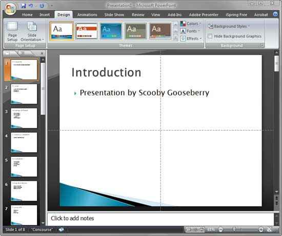 Reuse slides in powerpoint 2007 for windows powerpoint 2007 toneelgroepblik Image collections