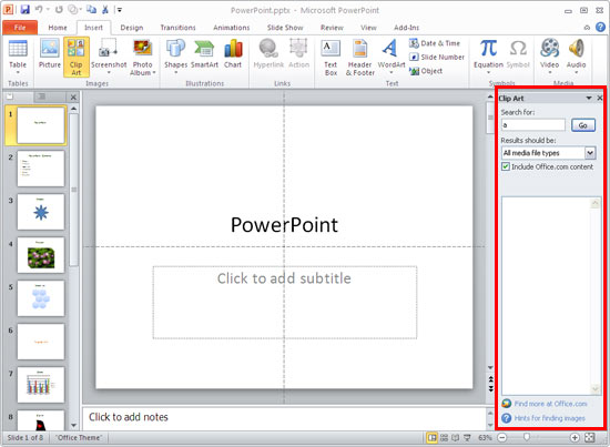 ms powerpoint meaning