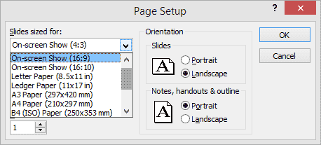 widescreen implementations in powerpoint, Powerpoint templates