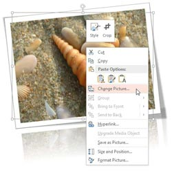 Change Picture in PowerPoint 2013