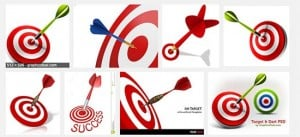 Clichés: Target and Dart Pictures