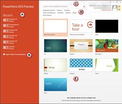 Presentation Gallery -- PowerPoint 2013