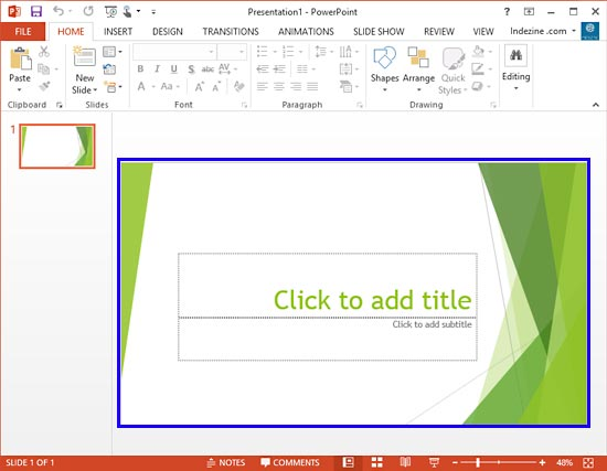 widescreen defaults in powerpoint 2013 | powerpoint tutorials, Powerpoint templates