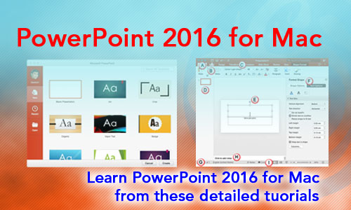 PowerPoint 2016 for Mac Tutorials