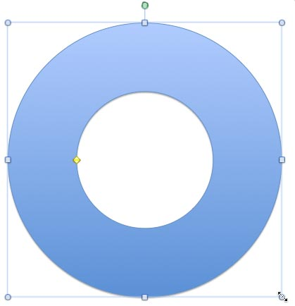 Drawing a CD or a DVD in PowerPoint 2011 for Mac