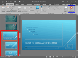 Add and Rename Slide Masters in PowerPoint 2016 for Windows