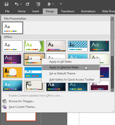 how to open up two powerpoint windows side by side