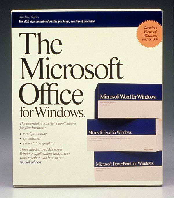 Advertisement: Microsoft Office for Windows