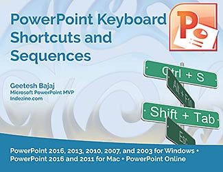 keyboard shortcuts for PowerPoint